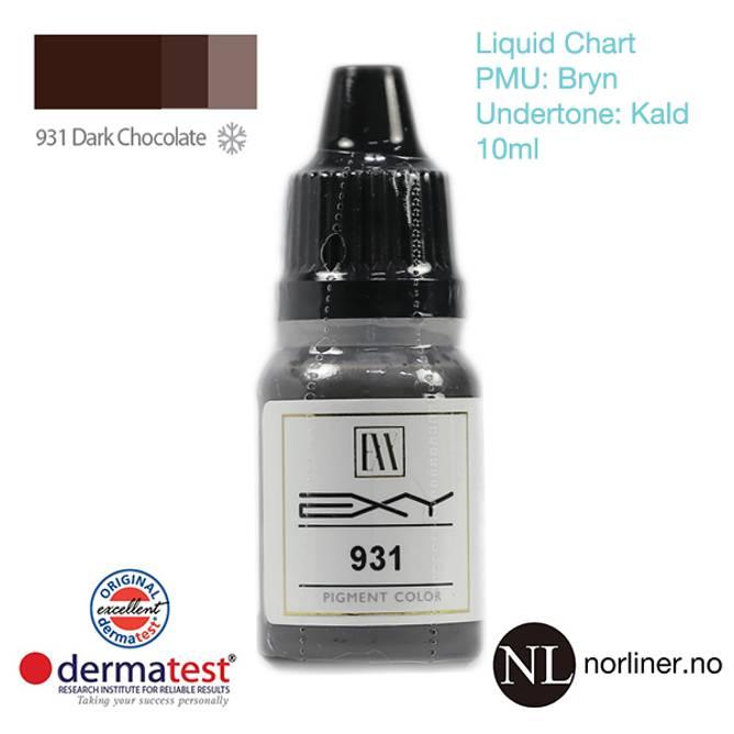 Bilde av MT-EXY #931 Dark Chocolate til PMU Bryn [Liquid