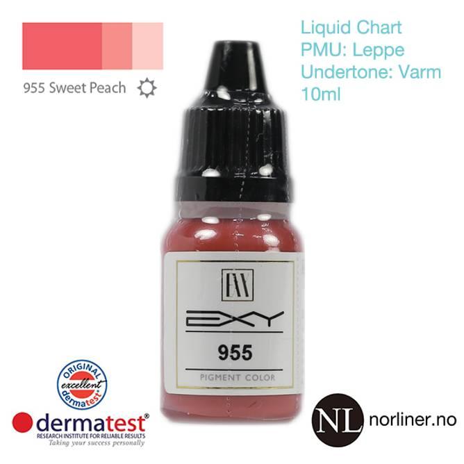 Bilde av MT-EXY #955 Sweet Peach til PMU Leppe [Liquid
