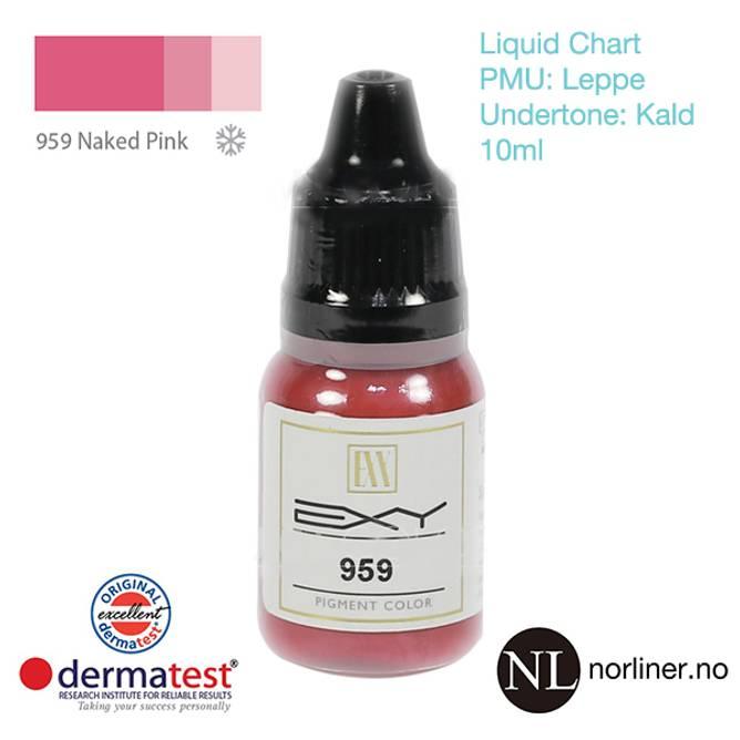 Bilde av MT-EXY #959 Naked Pink til PMU Leppe [Liquid