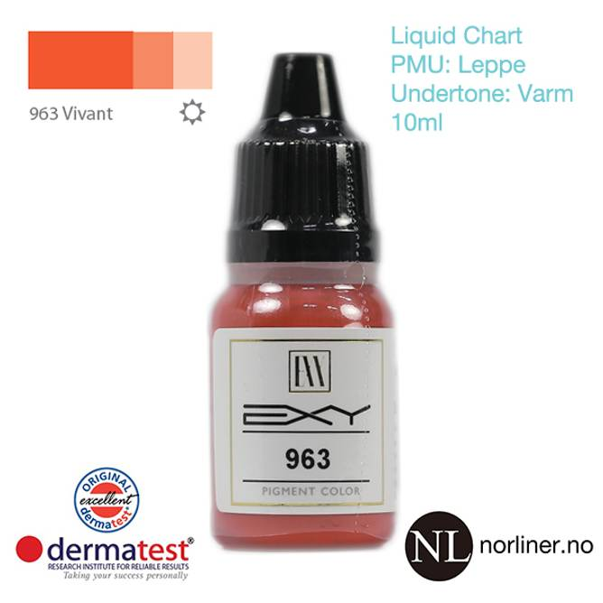Bilde av MT-EXY #963 Vivant til PMU Leppe [Liquid Chart]