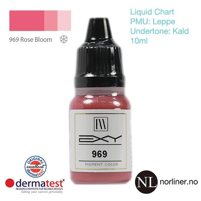 Bilde av MT-EXY #969 Rose Bloom til PMU Leppe [Liquid