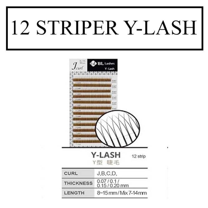 Bilde av 12 STRIPER Y-LASH/2D