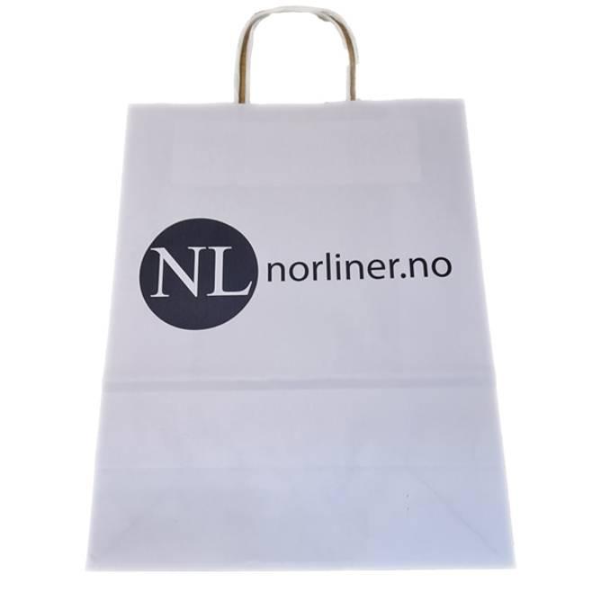 Bilde av NL-BAG Til Startpakker/Kunder Miljøvennlig Papir