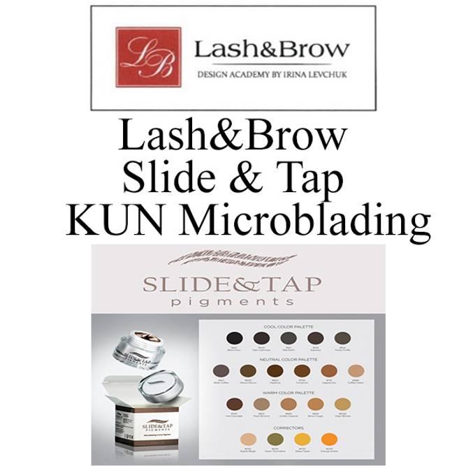 Bilde av LASH&BROW SLIDE&TAP KUN Microbl.