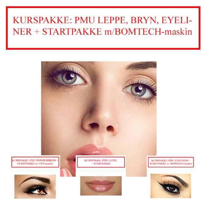 Bilde av KURSPAKKE: PMU ALLE TRE + STARTPAKKE