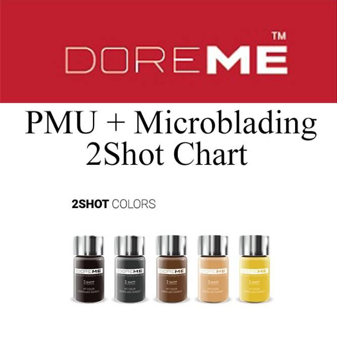 Bilde av DOREME PMU+Microbl. 2Shot Chart