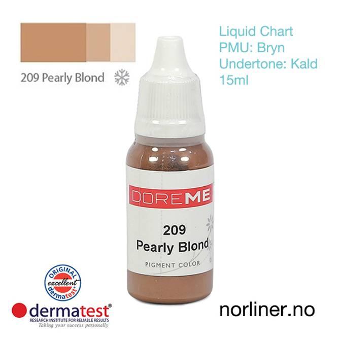 Bilde av MT-DOREME #209 Pearly Blond til PMU Bryn [Liquid
