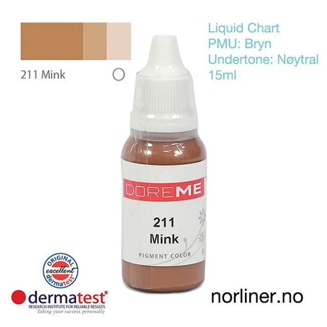 Bilde av MT-DOREME #211 Mink til PMU Bryn [Liquid Chart]