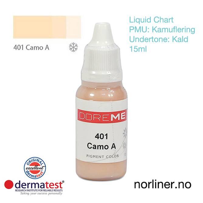 Bilde av MT-DOREME #401 Camo-A til PMU Kamuflering [Liquid