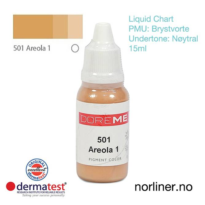Bilde av MT-DOREME #501 Areola-1 til PMU Brystvorte