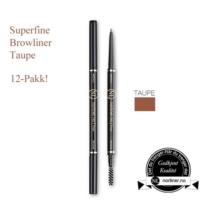 Bilde av NL-Superfine Browliner Taupe 12-Pakk!