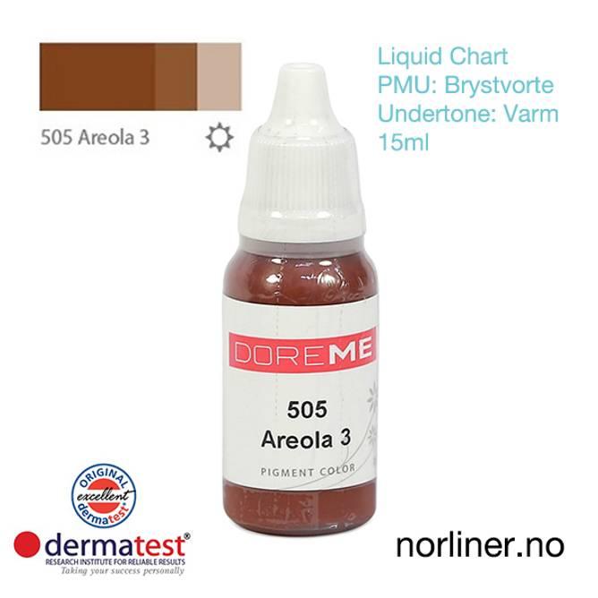Bilde av MT-DOREME #505 Areola-3 til PMU Brystvorte