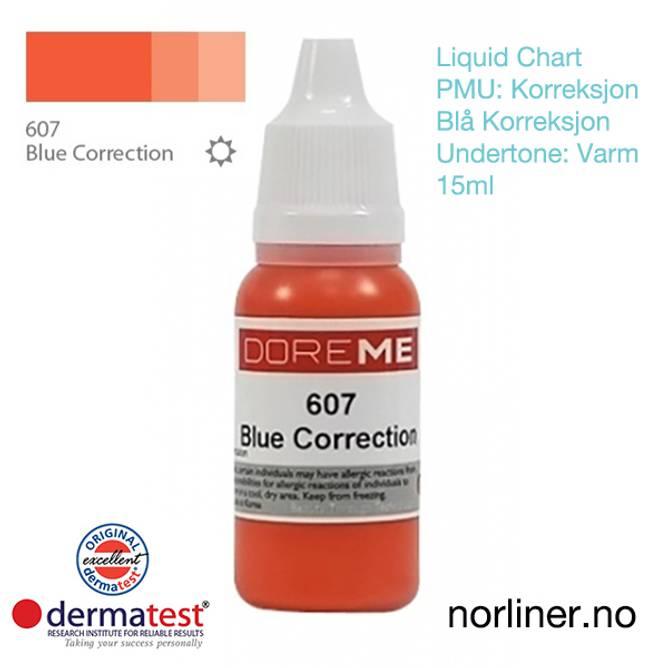 Bilde av MT-DOREME #607 PMU BLÅ-Korrigering [Liquid Chart]