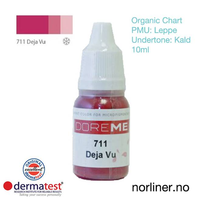 Bilde av MT-DOREME #711 Deja Vu PMU Leppe [Organic Chart]