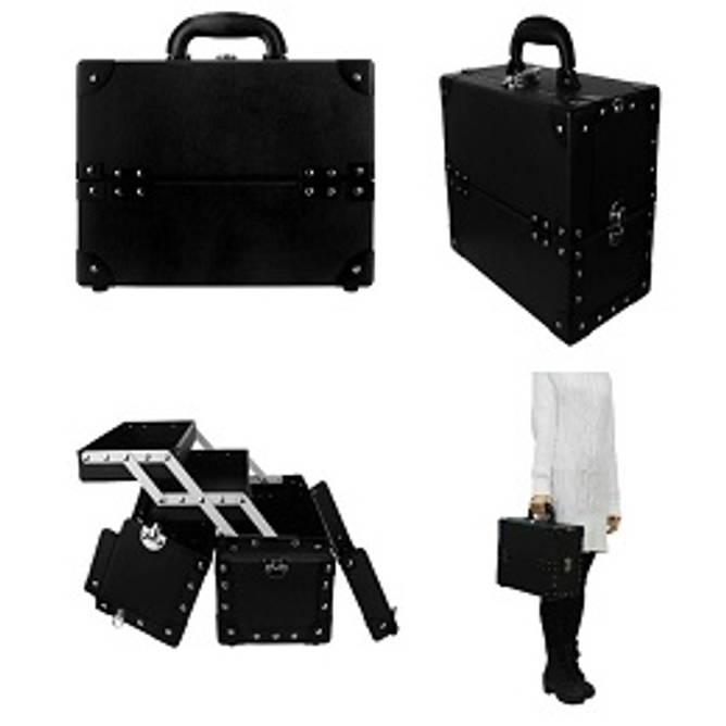 Bilde av BL-BEAUTY CASE Cardboard Black Medium (M)