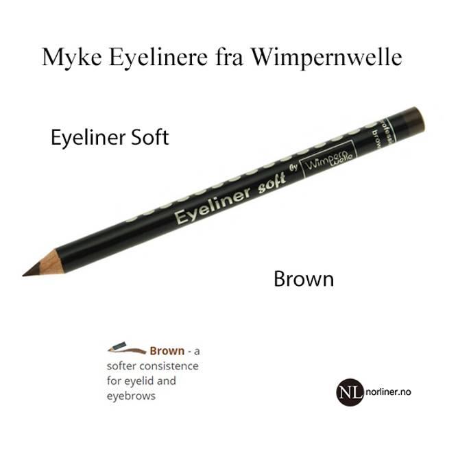 Bilde av WW-Eyeliner Soft Brun / (brynsblyant)