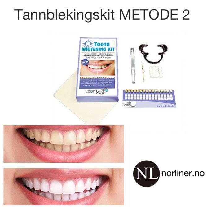 Bilde av TF-Tannbleking-KIT Metode-2