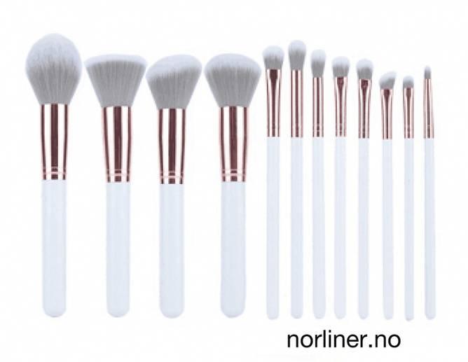 Bilde av NL - BØRSTESETT HVIT - Til Bryn & Make-Up