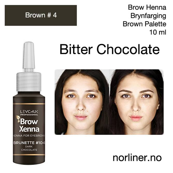 Bilde av LB-BH BROW XENNA Brown #4(104) Bitter/Dark