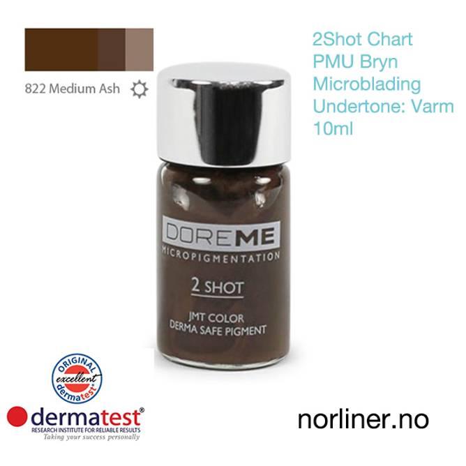 Bilde av MT-DOREME #822 Medium Ash PMU Bryn & Microbl.