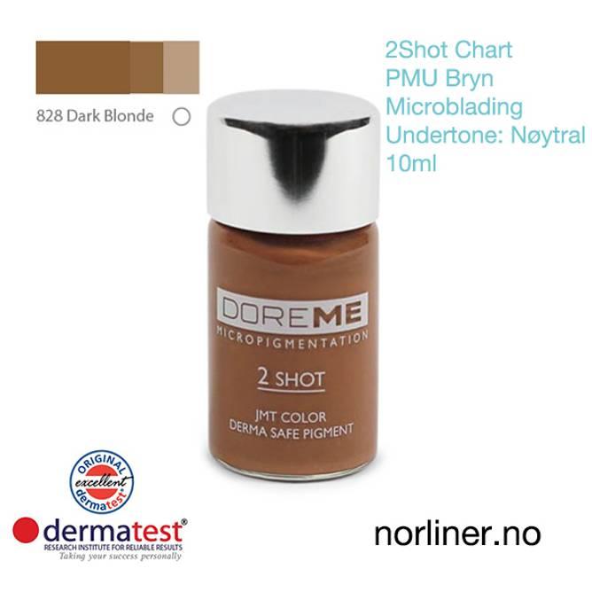 Bilde av MT-DOREME #828 Dark Blonde PMU Bryn &Microbl.