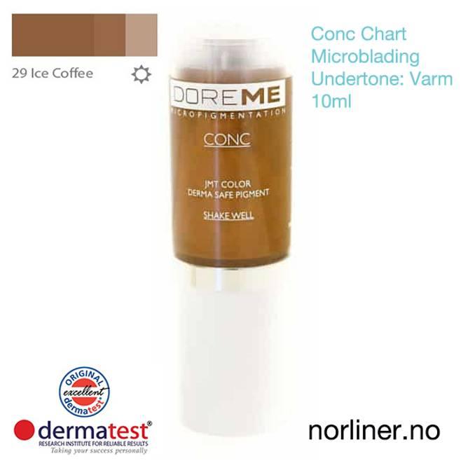 Bilde av MT-DOREME #29 Ice Coffee til Microblading [Conc