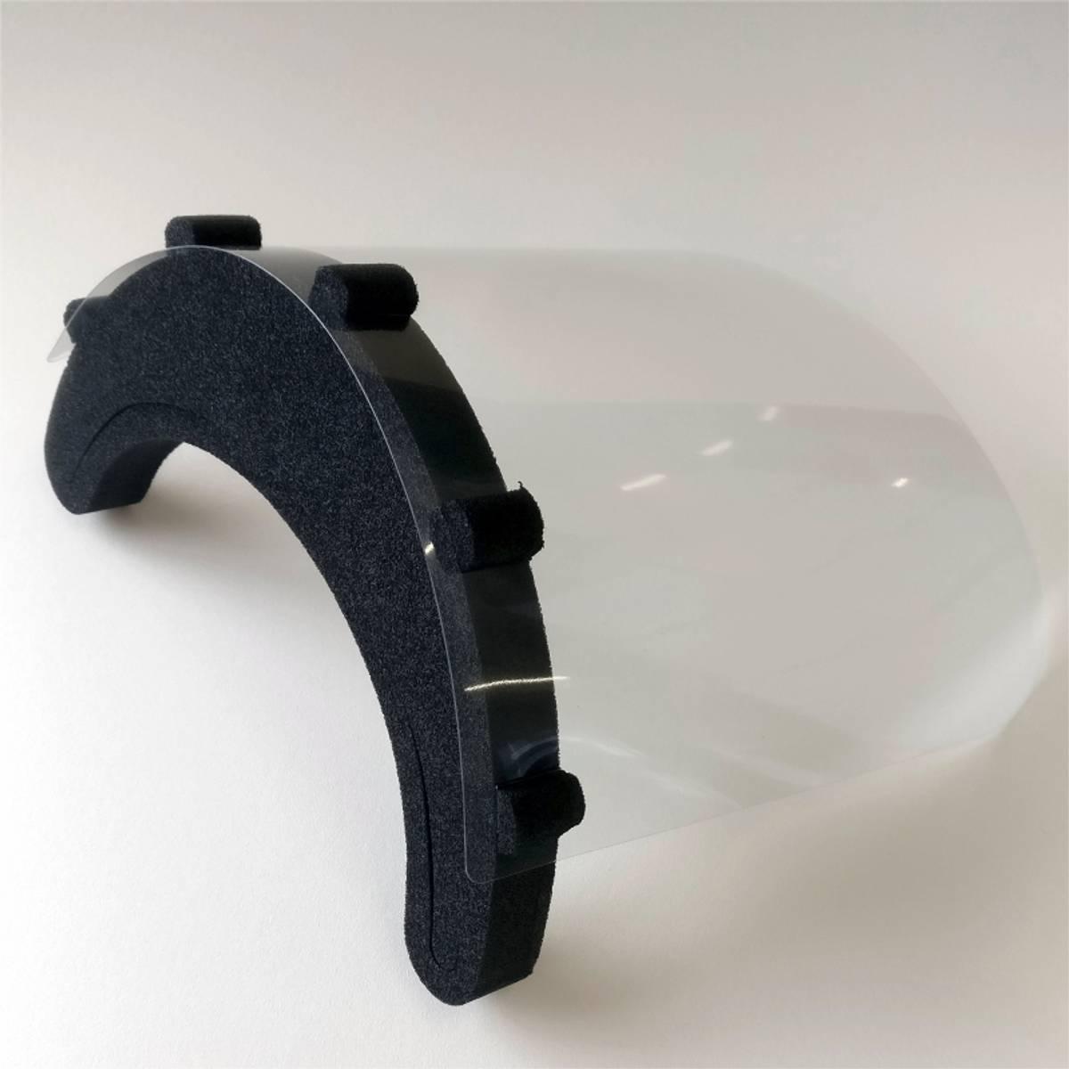 BeVis - Beskyttelsesvisir komplett 299x225 flatpakket