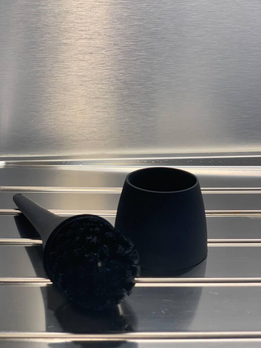 Z Collection silikon oppvaskbørste sort