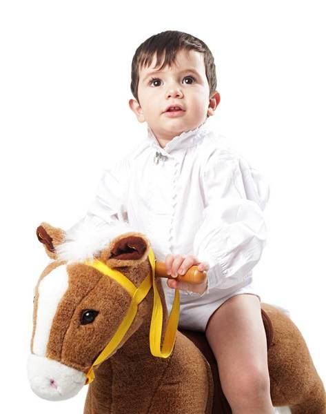 Bilde av Baby skjortebody  med blonder