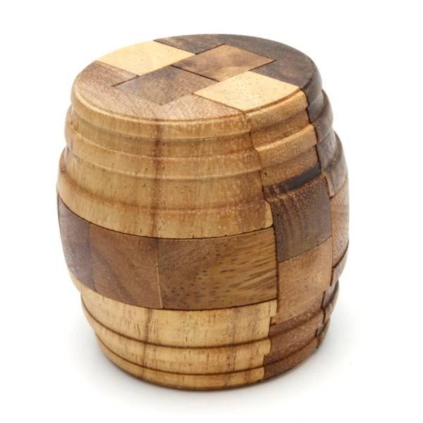 Bilde av Barrel puzzle IQ-nøtt