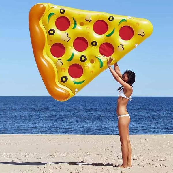Bilde av Pizza oppblåsbar badeleke