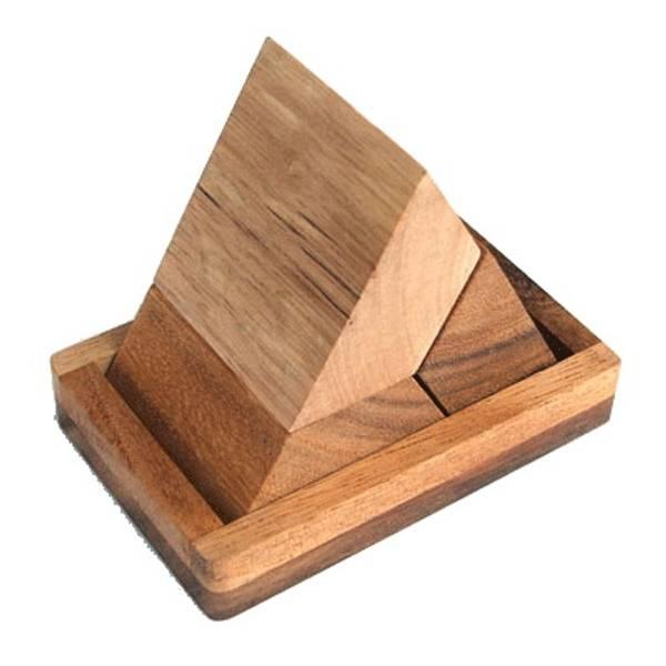 Bilde av Pyramide puzzle - IQ-nøtt
