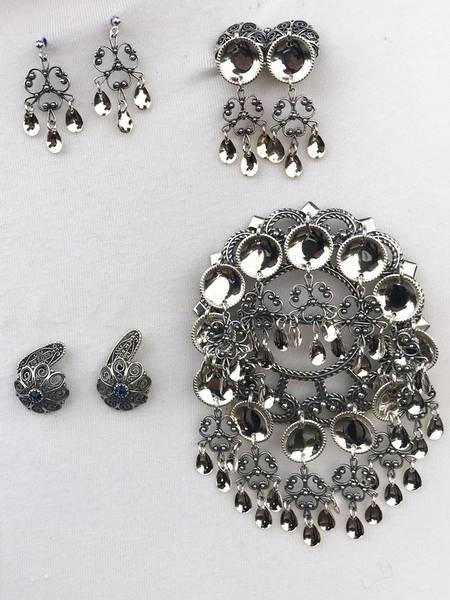 Bilde av Sølvpakke oksidert sølv