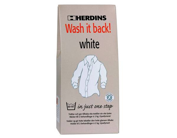 Bilde av Wash it back White, 400 g