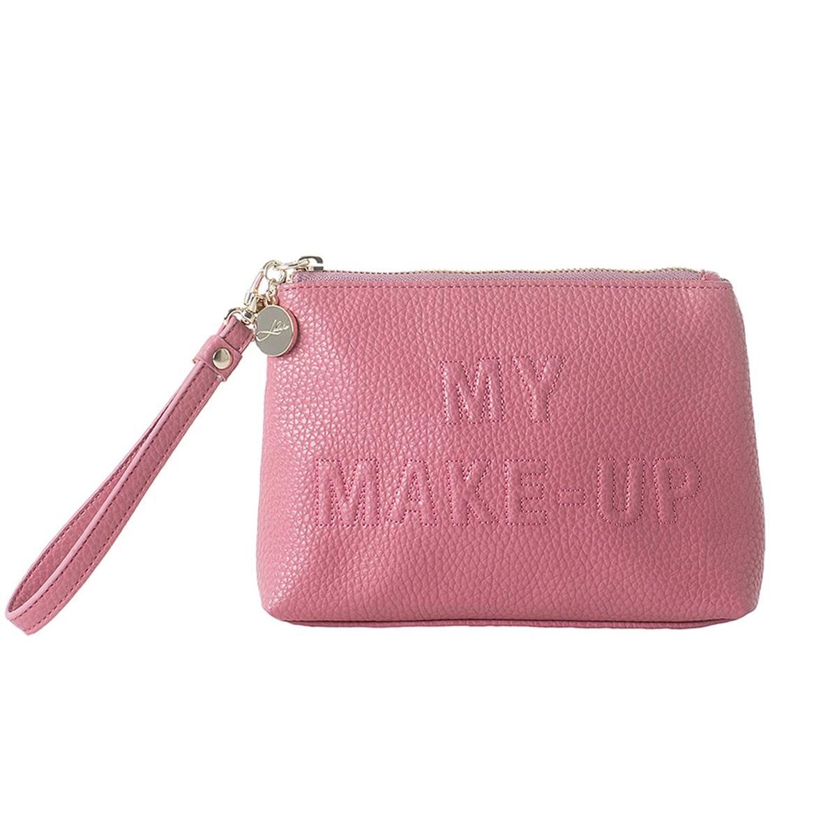 Toalettveske ''my make up'' rosa liten - LULUS