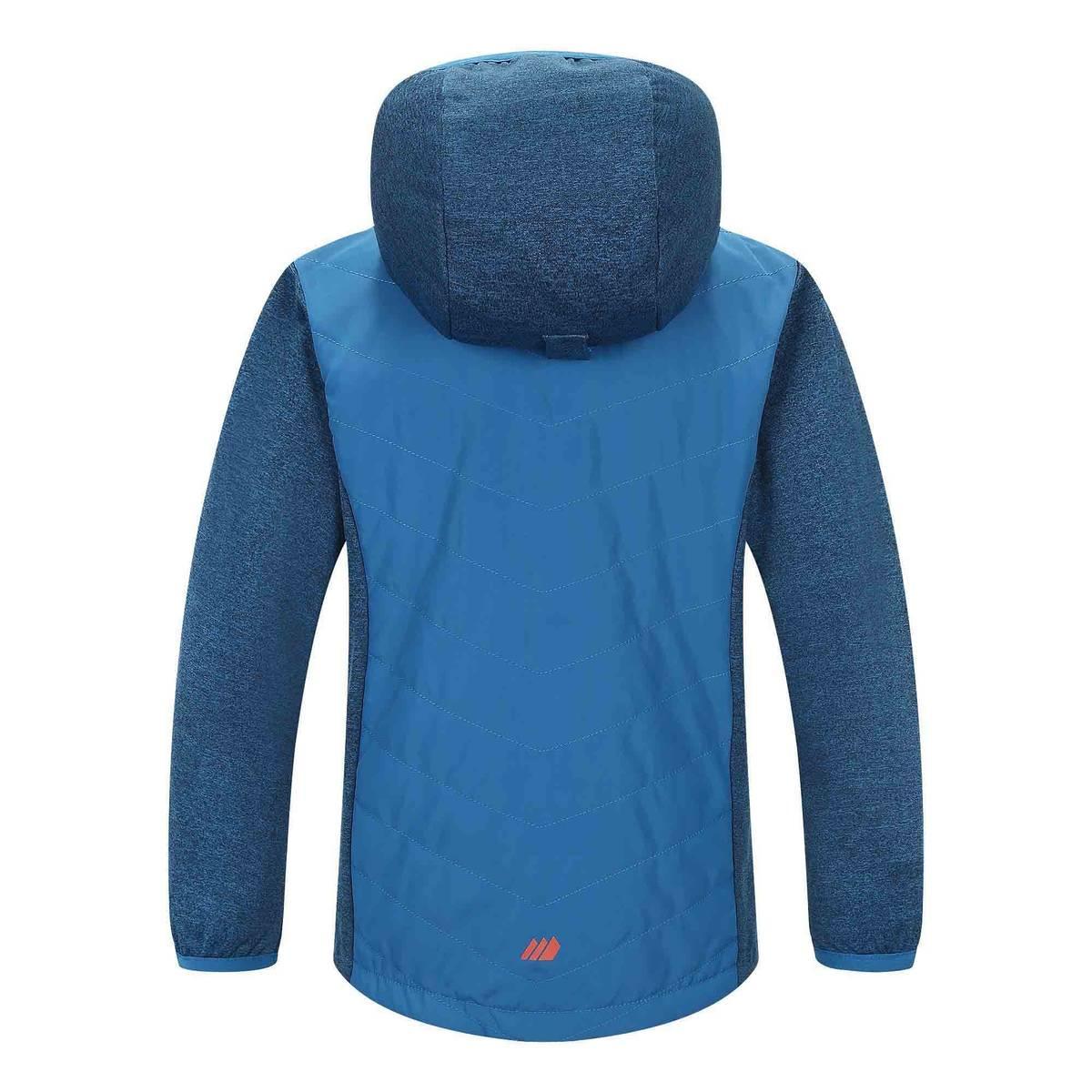 Nea hybrid jakke til jente - Blue sapphire