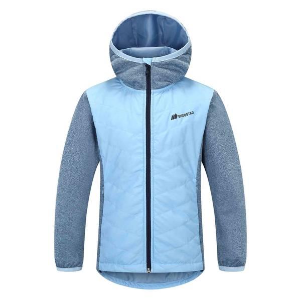 Bilde av Nea hybrid jakke til jente - light blue