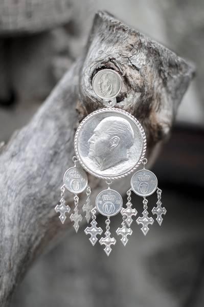Bilde av Myntdalar i sølv - Bunadsølv - 15540