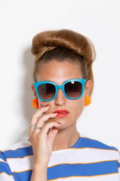 Bilde av Joy solbrille peacock