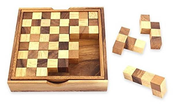 Bilde av Sjakkbrett puzzle