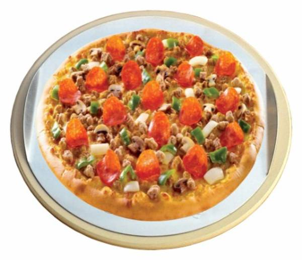 Bilde av Pizzastein med bakeplate Ø37 cm