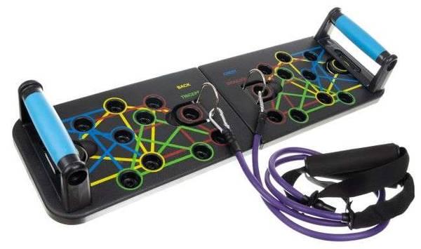 Bilde av Push-up brett med elastiske stropper