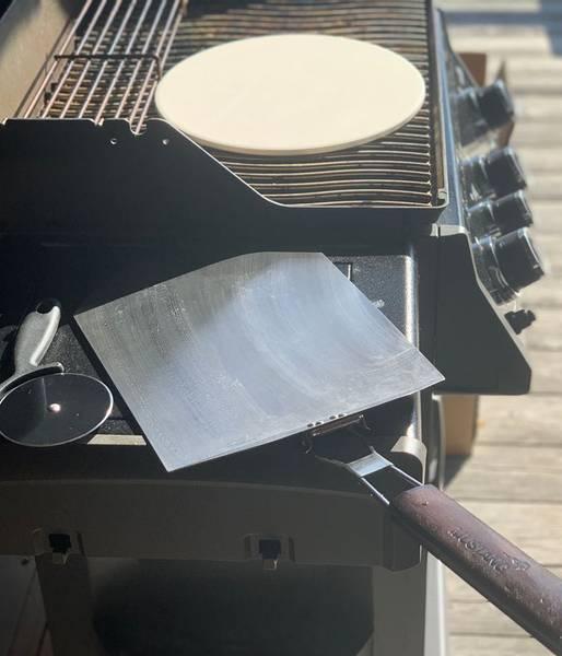 Bilde av Pizzasett 3 deler Mustang - Pizzaspade, pizzahjul og