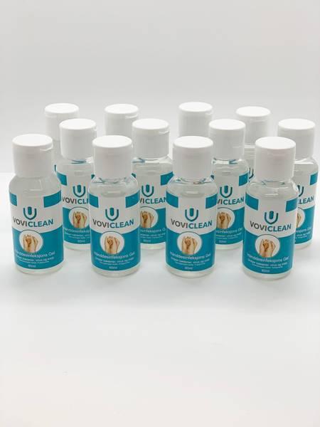 Bilde av 12x Hånddesinfeksjons gel 60 ml