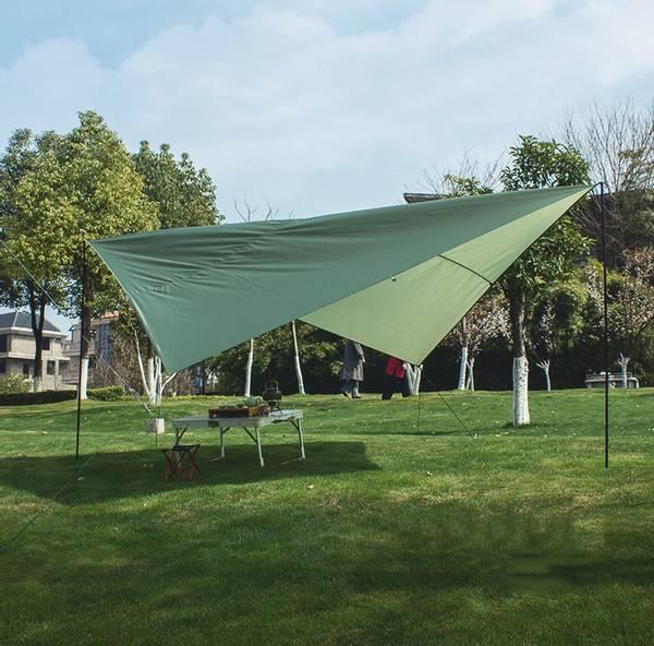 Bilde av Tarp regnbeskyttelse til hengekøye i grønt
