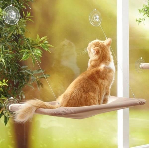 Bilde av Katteseng / hengekøye til vinduet