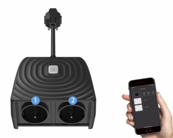 Bilde av Smartplugg til utendørs bruk - tilkobles wifi