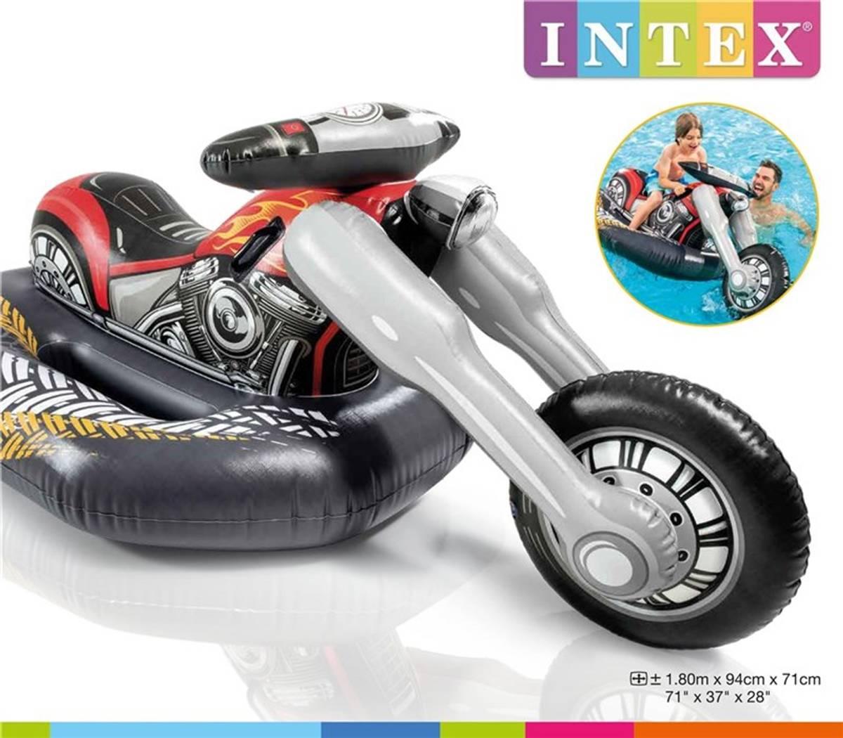 Intex cruiser motorsykkel ride-on