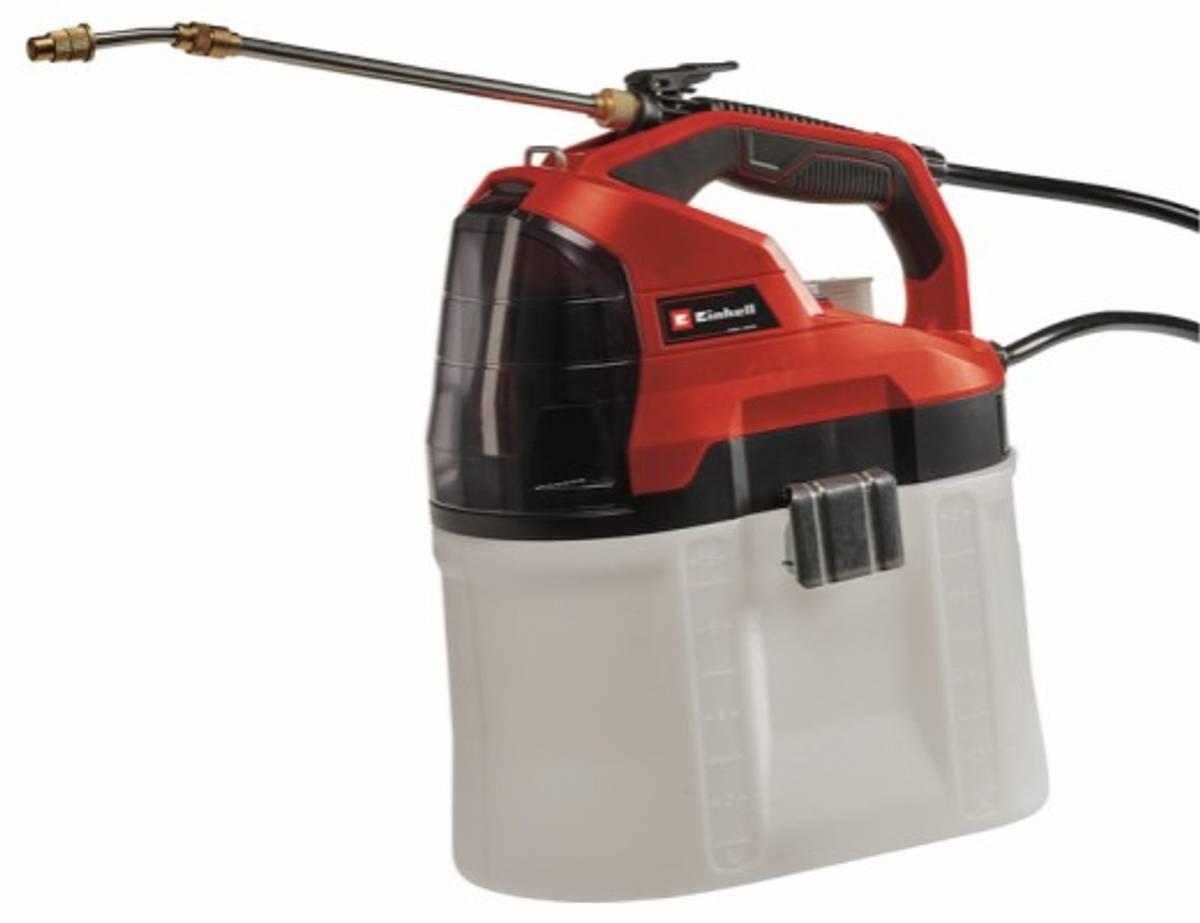 Einhell Batteridrevet trykksprøyte, GE-WS 18/75 Li-Solo