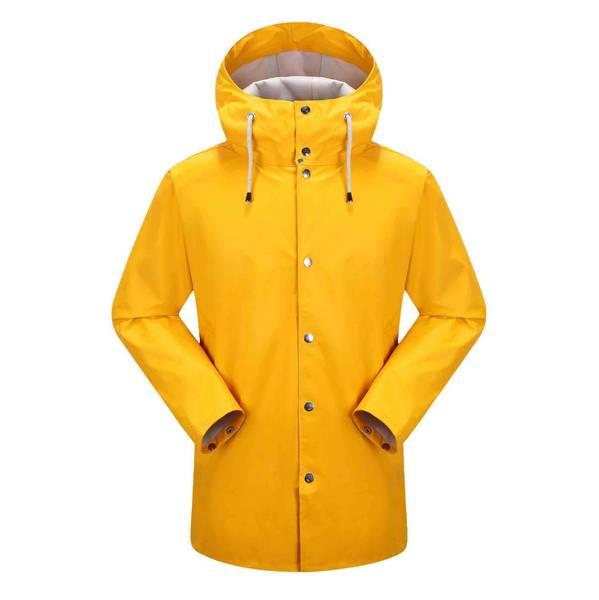 Bilde av Vikna unisex regnkåpe - Solo yellow